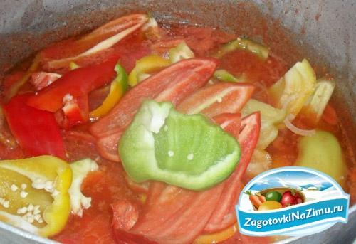 рецепт салата лечо с луком
