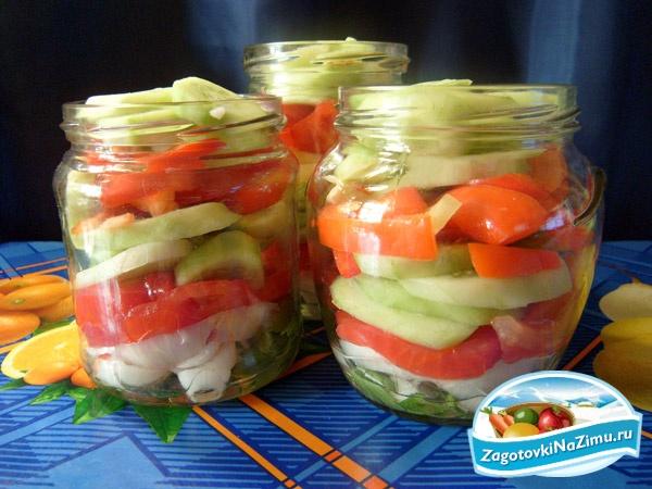 Какие овощные салаты заготовить на зиму? | Еда и