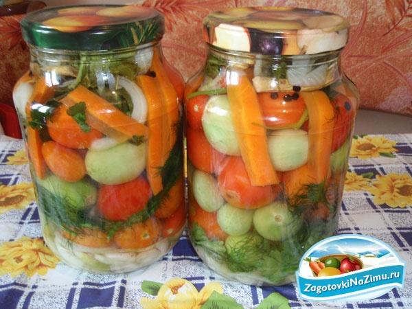 Рецепты засолки огурцов и помидоров ассорти
