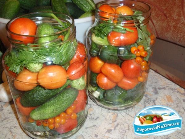 Как закрутить помидоры огурцы ассорти рецепты