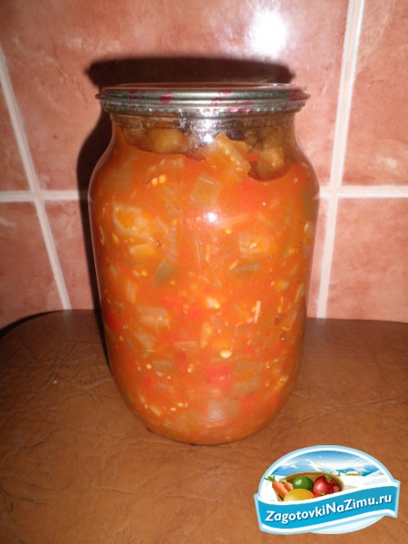 Салат из кабачков на зиму рецепты с с томатной пастой