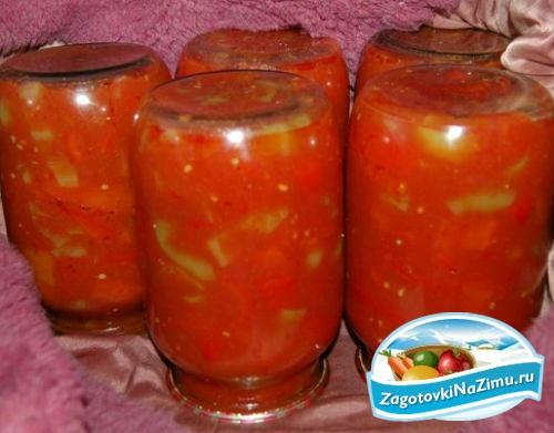 Лечо на зиму помидоры и перец