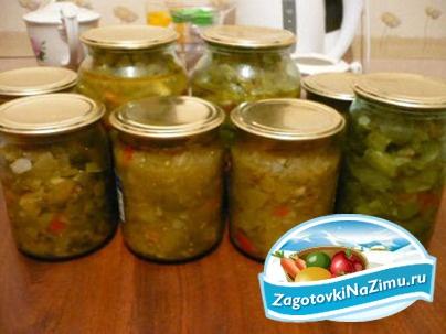 Салаты из баклажан - простые рецепты салатов на зиму без 86