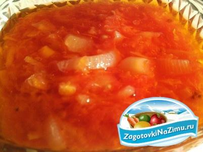 Рецепты салатов из перца без помидор