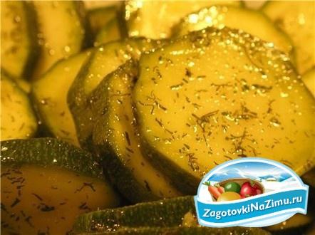 рецепты консервирования салатов из кабачков на зиму