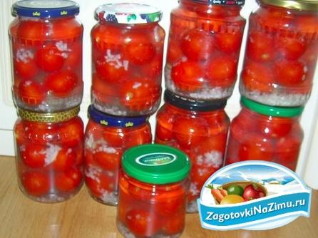 Заготовки помидор, томатов на зиму: пошаговые рецепты с фото