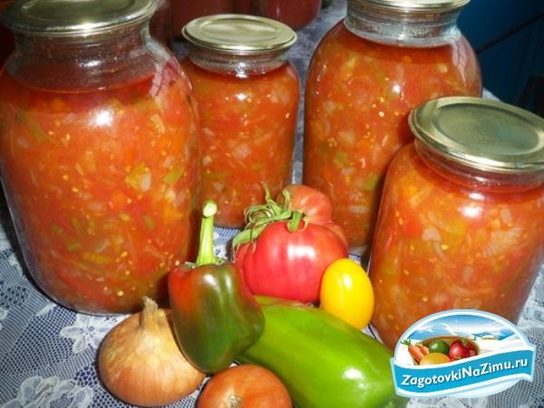 Салат из капусты огурцов помидор и перца