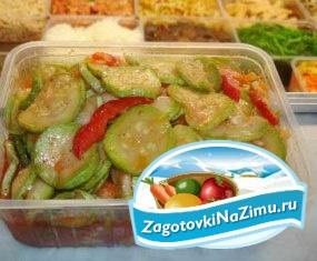 Вкусный салат из помидор и огурцов на зиму рецепты с фото