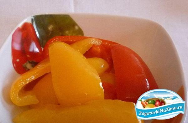 Салат из перца на зиму источник