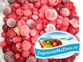 Заморозка ягод для компота. Рецепт с фото