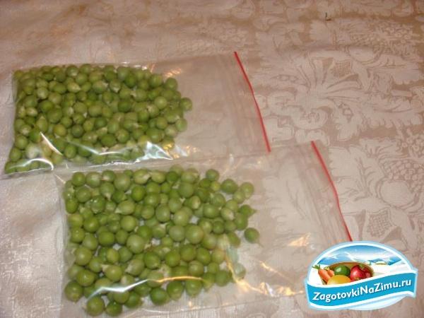 Как сварить замороженный зеленый горошек