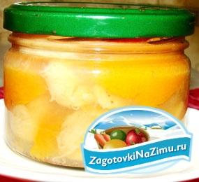 Желе из бананов и абрикосов на зиму. Рецепт с пошаговыми фото