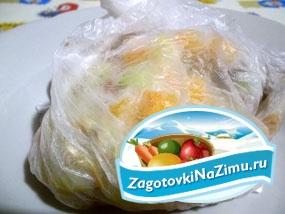 Замораживание овощной смеси для самых маленьких. Рецепт с пошаговыми фото