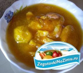 Варенье из абрикосов с косточками из абрикосов, миндаля и апельсинов. Рецепт с пошаговыми фото