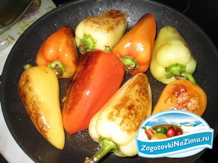 Заготовки из перца Перец консервированный