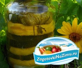 Закуска из цукини на зиму. Ласковое лето Рецепт с пошаговыми фото