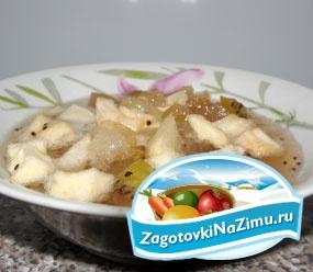 Рецепт яблочного варенья с киви с пошаговыми фото