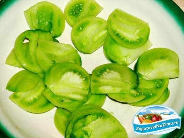 Зелёные помидоры рецепты пошагово