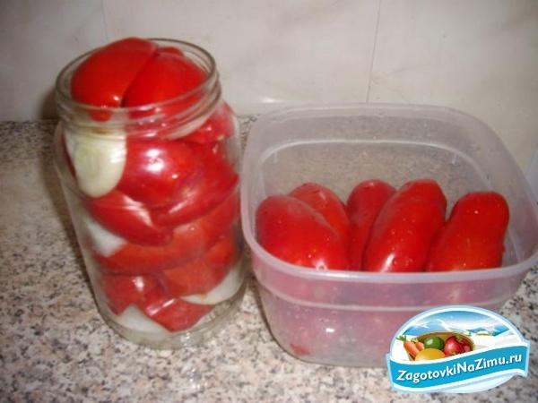 Икра из помидоров на зиму рецепт с луком