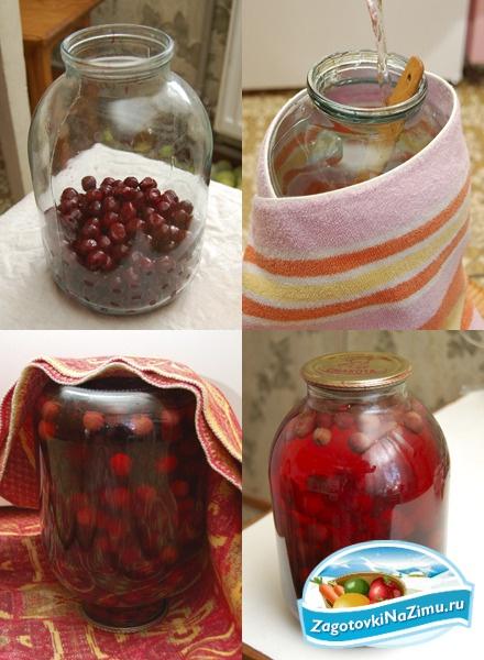 Компот из вишни простые рецепты