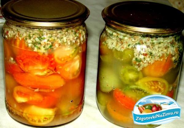 Запеченные помидоры на зиму рецепты с фото
