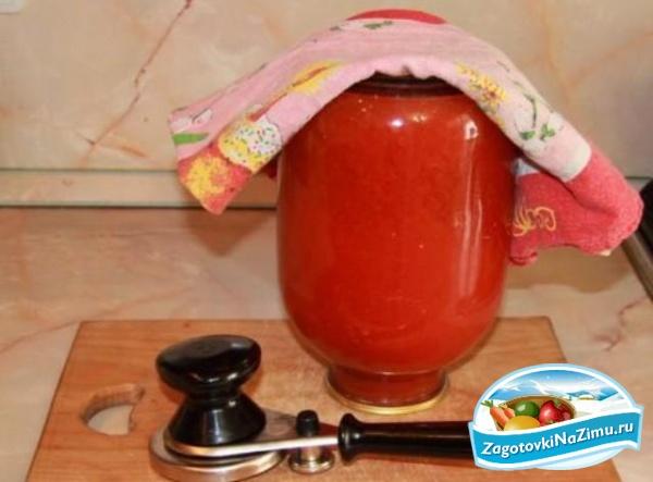 Томатный сок из помидоров в домашних условиях
