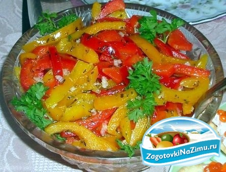 Болгарский перец рецепты на зиму
