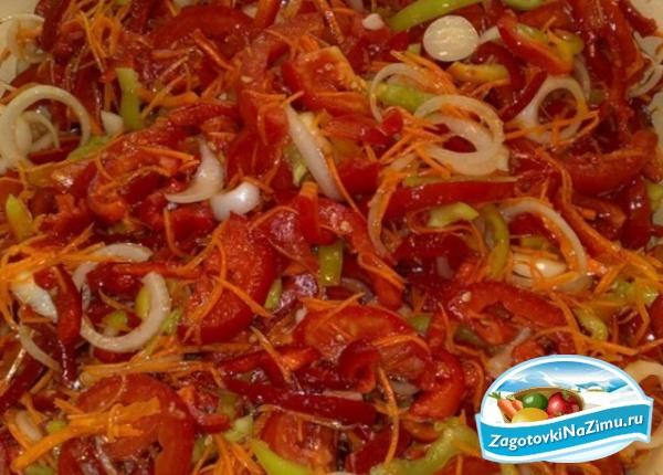 Украинские рецепты салатов с фото