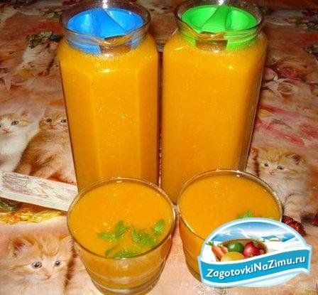 Сок с апельсинами в домашних условиях на зиму