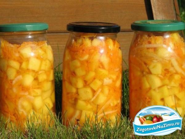Салаты из кабачков на зиму / Простые рецепты - Ovkuse ru
