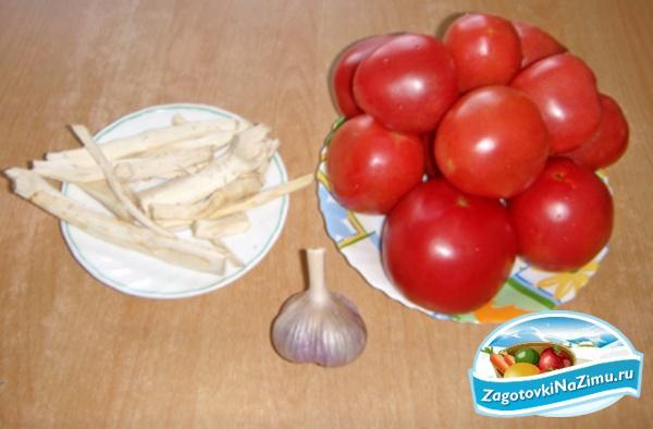 Как из помидор сделать огонек