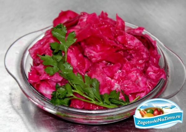 Рецепт засолки капусты