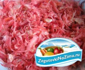 Быстрая засолка капусты вкусный рецепт