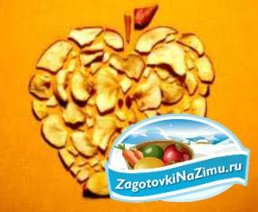 Как осуществить сушку яблок в духовке
