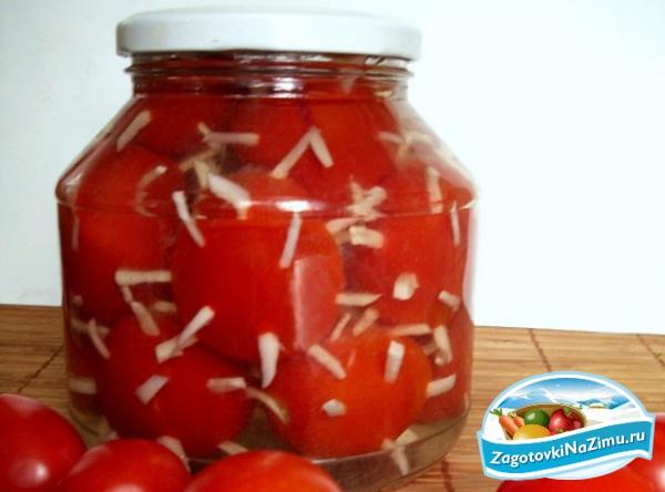 Засолка помидоров рецепт с фото