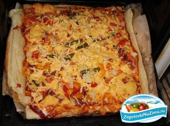 Как делать пиццу самый простой рецепт