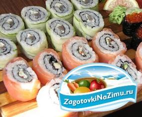 Как приготовить домашние суши?