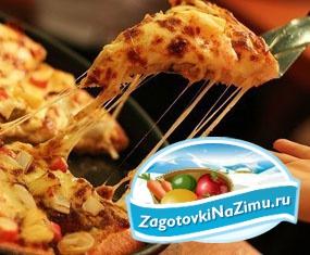 Пицца на сковороде: вкусный рецепт