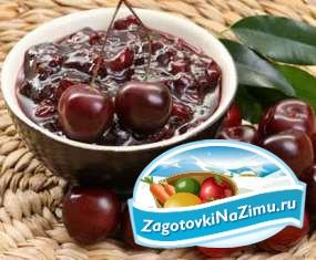 Варенье из вишни пятиминутка - быстро и вкусно