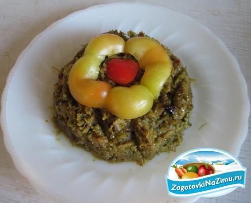 Пирог творожный с яблоками в мультиварке рецепт