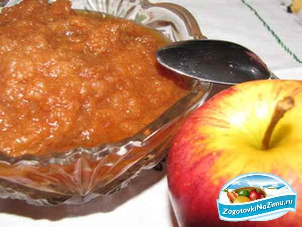 Готовим яблочное пюре на зиму