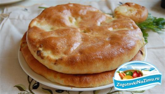 Осетинский пирог рецепт с фото пошагово видео