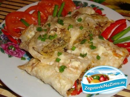 рецепт фарш в картошке в духовке