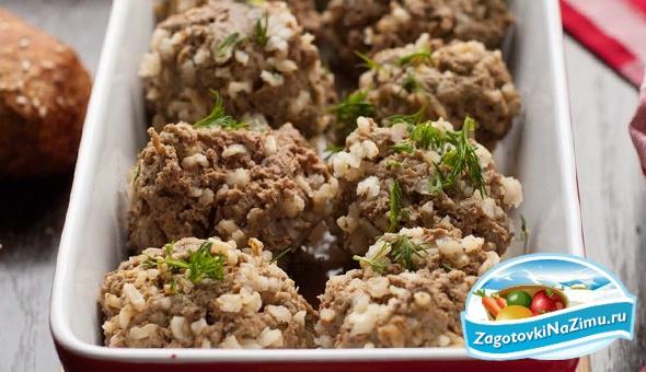рецепт приготовления ежиков из фарша с рисом