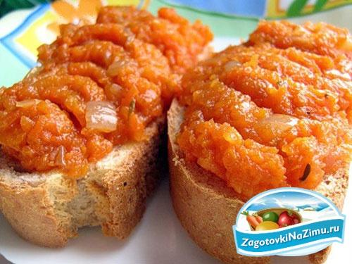 Икра из моркови оригинальные рецепты