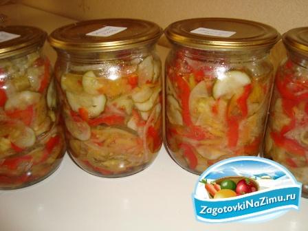 лучшие рецепты консервации салатов на зиму