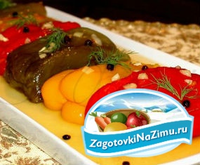Маринованный болгарский перец на зиму