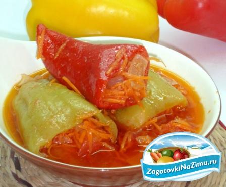 Фаршированные овощи на зиму рецепты с фото
