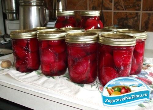 Аджика из свеклы на зиму рецепты с фото простые и вкусные - 591
