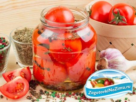 Заготовки на зиму из помидор вкусные